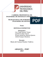 Trabajo Sistemas Expertos - Introduccion Ing Sist.