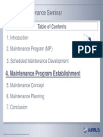 Scheduled Maintenance Program Seminar - 4. Maintenance Program Establishment-Part1