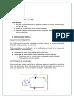 Lab. Circuitos Electronicos I - 4.- Rectificadores y Filtros