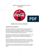 113892116 Pestel Analysis of Coca Cola