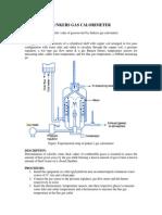 junkers gas calorimeter