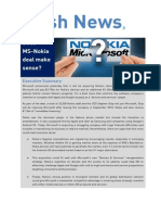 Nokai and Microsoft