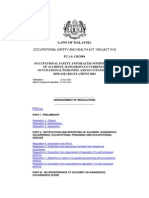 Notification of Accident, Dangerous Occurrence, Poisoning and Occupational Disease Regulations 2004 for Asbestos