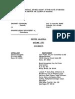 9 18 12 Vol 5 of 5 ROA WLS 60302 Coughlin v WLS Appeal of CV11-01896