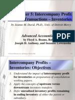 Beams10e Ch05 Intercompany Profit Transactions Inventories