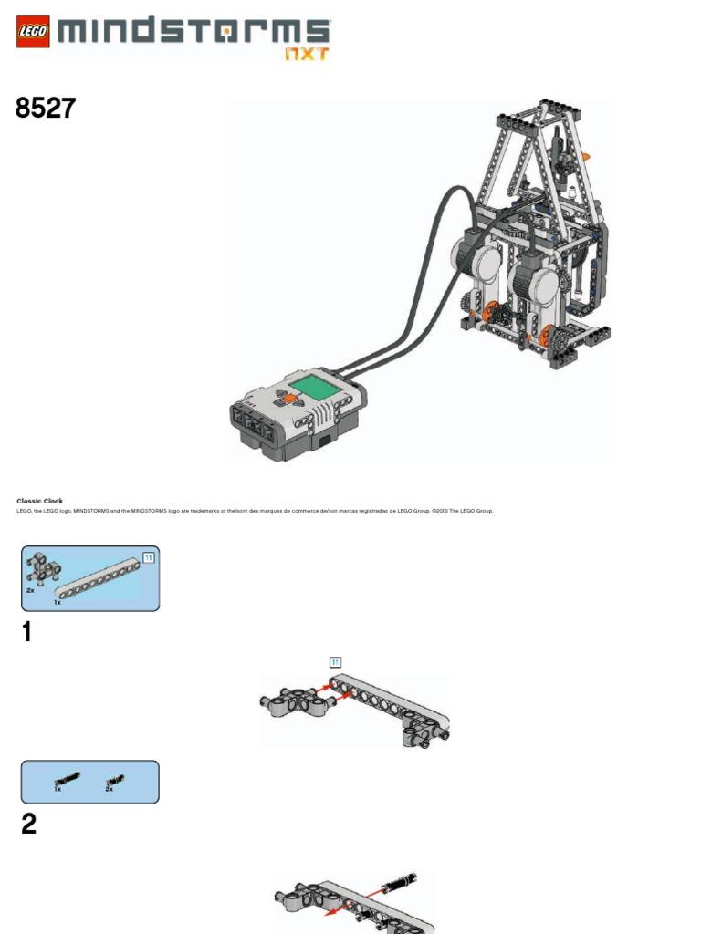 Lego NXT Mindstorms Bonus Model Classic Clock | Lego