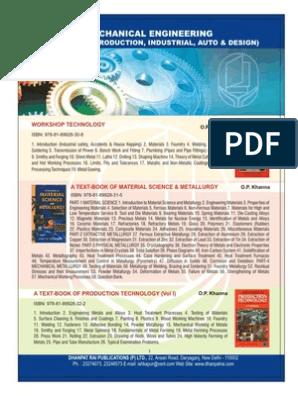 01 mechanical engineering pdf | Foundry | Internal