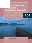 985 Structural Equation Modeling in Educational Research