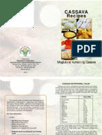 Cassava Brochure_Recipes Final