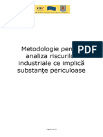 Metodologie Analiza Risc - Substante Periculoase