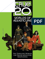 True20 Worlds of Adventure
