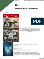 Illuminati - 'Inception' - Want Our Dreams, Too