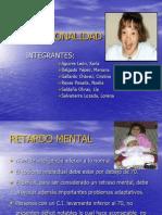 EXCEPCIONALIDAD - Diapos- Sindrome Down