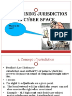 Determining Jurisdiction in Cyber Space
