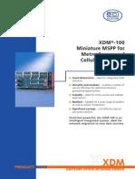 XDM 100 SDH System en 1