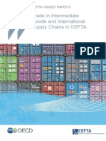 Trade in intermediate goods and international supply chains in CEFTA