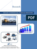 Table of Content Commercial Vehicle Industry