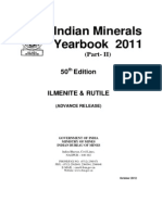 India Mineral Yearbook 2011 - Ilmenite Rutile