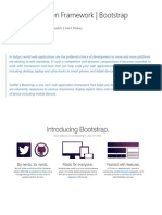 Web Application Framework - Bootstrap