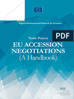 The EU Accession Negotiations _Handbook