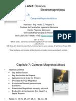 CEM4042 Cap 7 - Campos Magnetostáticos