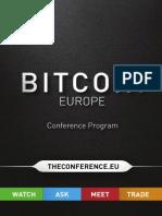 European Bitcoin Convention Schedule (Final)