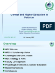 Gender and Higher Education AIPS 14-01-07