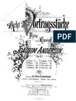 Andersen - 8 Performance Pieces for Flute and Piano, Op.55 - 1