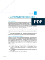 Appendix 2 -Mathematical Modeling