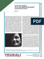 Delgado, J. El Conocimiento Del Poder. Una Respuesta a Las Criticas de Rorty Al Pensamiento de Foucault.
