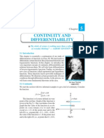 Ch 5- Continuoty and Differ en Ti Ability