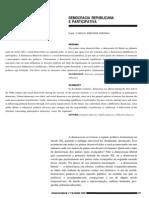 Artigo Bresser Pereira Democracia_republicana