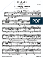 Chopin Ballade 1