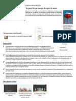 Cómo calcular el espesor de la pared de un tanque de agua de acero _ eHow en Español
