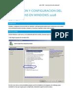 Instalacion y Configuracion Del Servicio DNS en Windows 2008 Server