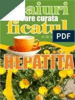 Ceaiuri Care Curata Ficatul Si Spala Hepatita - Autor