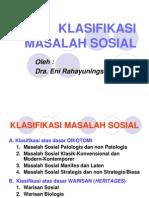 3-KLASIFIKASI MASALAH SOSIAL