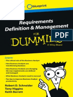 Requriements definition& managment for Dummies