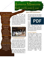 Love Newsletter 2009-06