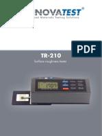 Rugozimetru Portabil TR 210 11281.TR 210