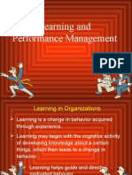 Lesson 3 Learning and Performance Management