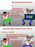 Lesson 9 (Chapter 10-11) Organizational Behavior and Conflict