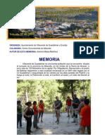 MEMORIA DE LA JORNADA DE PROMOCIÓN TURÍSTICA DE VILLAVERDE…