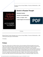 Darwin in Russian Thought