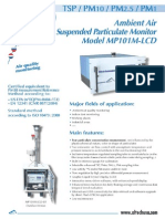 Ambient air suspended particulate monitoring