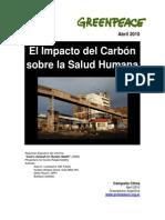 Impacto de Carbon en La Salud Humana