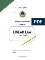 14 Linear Law