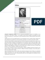 Alexander Alekhine - Biografia - Wikipedia