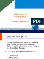 4 Tipos de investigación