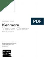 21614Purple Kenmore 21614 Progressive Canister Vacuum HEPA